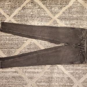 Levi's Line 8 charcoal skinny jean